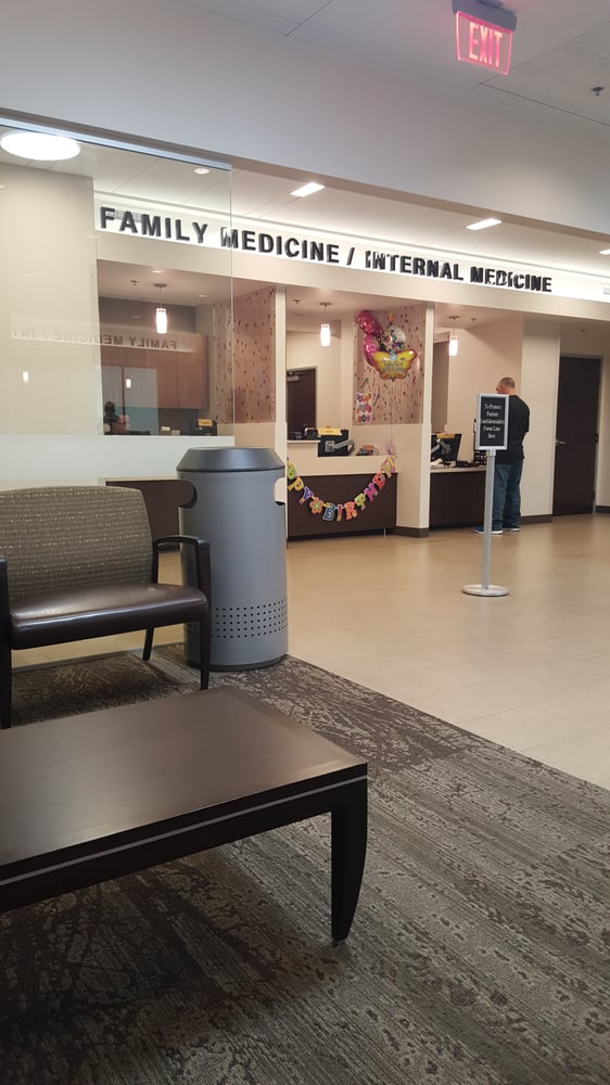 family medicine waiting area and check in - yelp