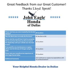 Photo Of John Eagle Honda Of Dallas   Dallas, TX, United States