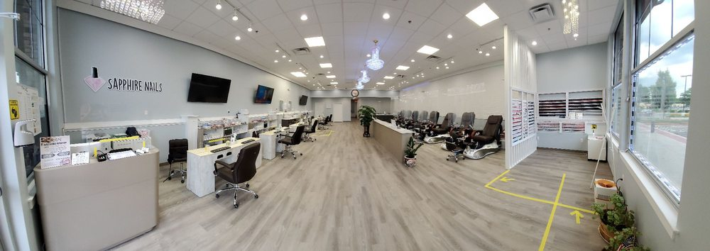 Sapphire Nails and Spa: 220 Berlin Tpke, Berlin, CT