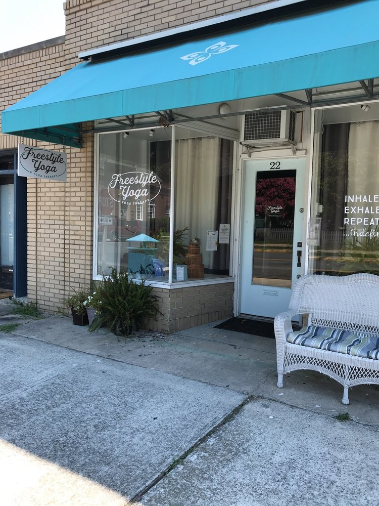 Freestyle Yoga & Yoga Therapy: 22 Strawberry St, Cape Charles, VA