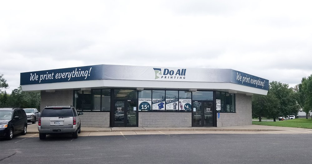 Do All Printing: 6360 Hwy 10 NW, Ramsey, MN