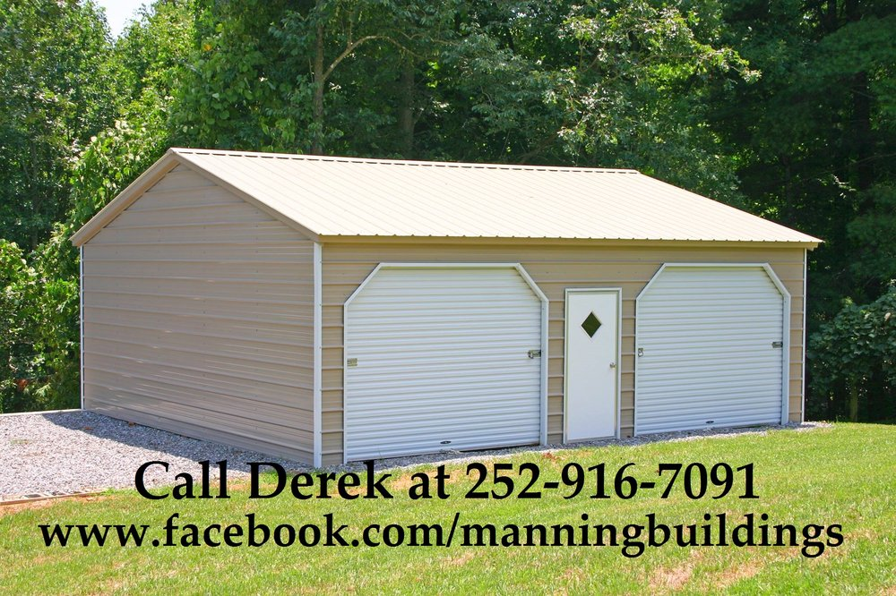 Manning Buildings: 674 Hwy 258 N, Snow Hill, NC