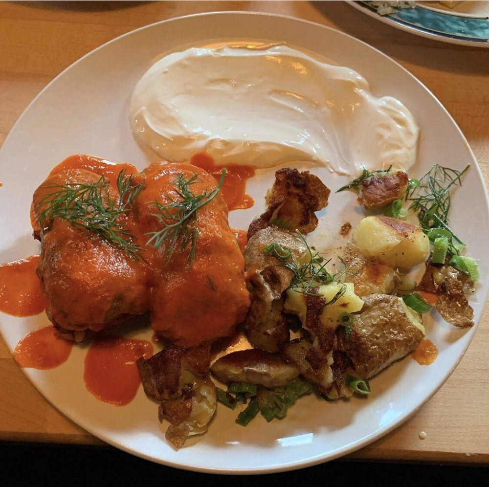 Mom Mom's Kitchen and Polish Food Cart