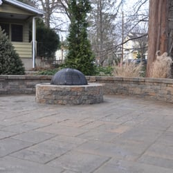 Photo Of Landscape Solutions   Union, NJ, United States. Fire Pit And  Sitting