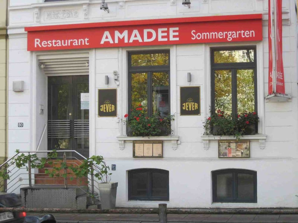 restaurant amadee max brauer allee 80 altona altstadt amburgo hamburg germania numero di. Black Bedroom Furniture Sets. Home Design Ideas