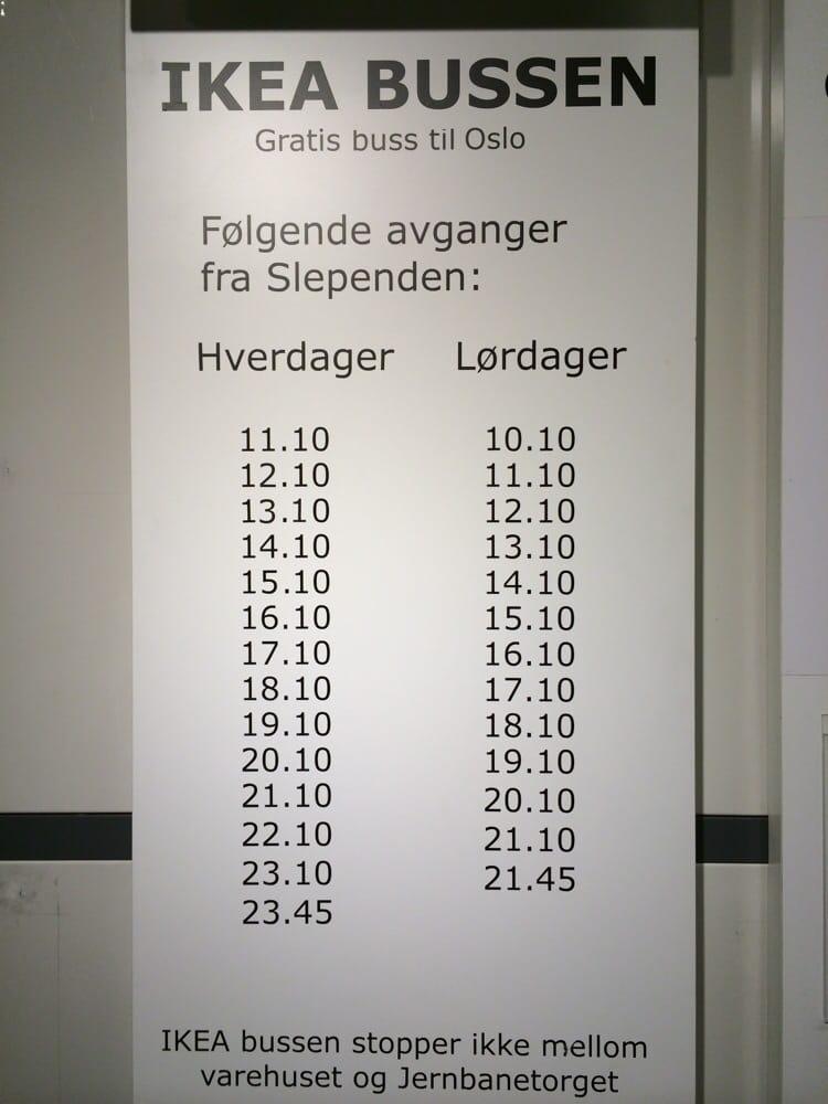 Ikea furuset buss