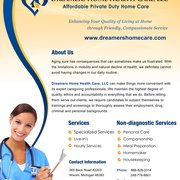 Dreamers Home Care & Staffing - 30 Photos - Home Health Care ...