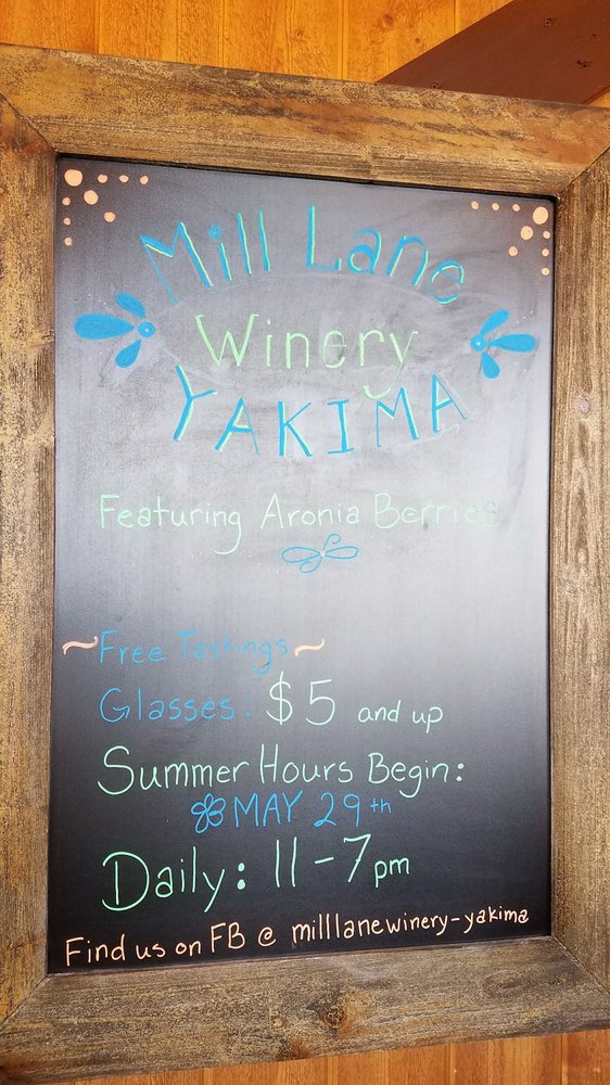 Mill Lane Winery - Yakima: 12302 Marble Rd, Yakima, WA