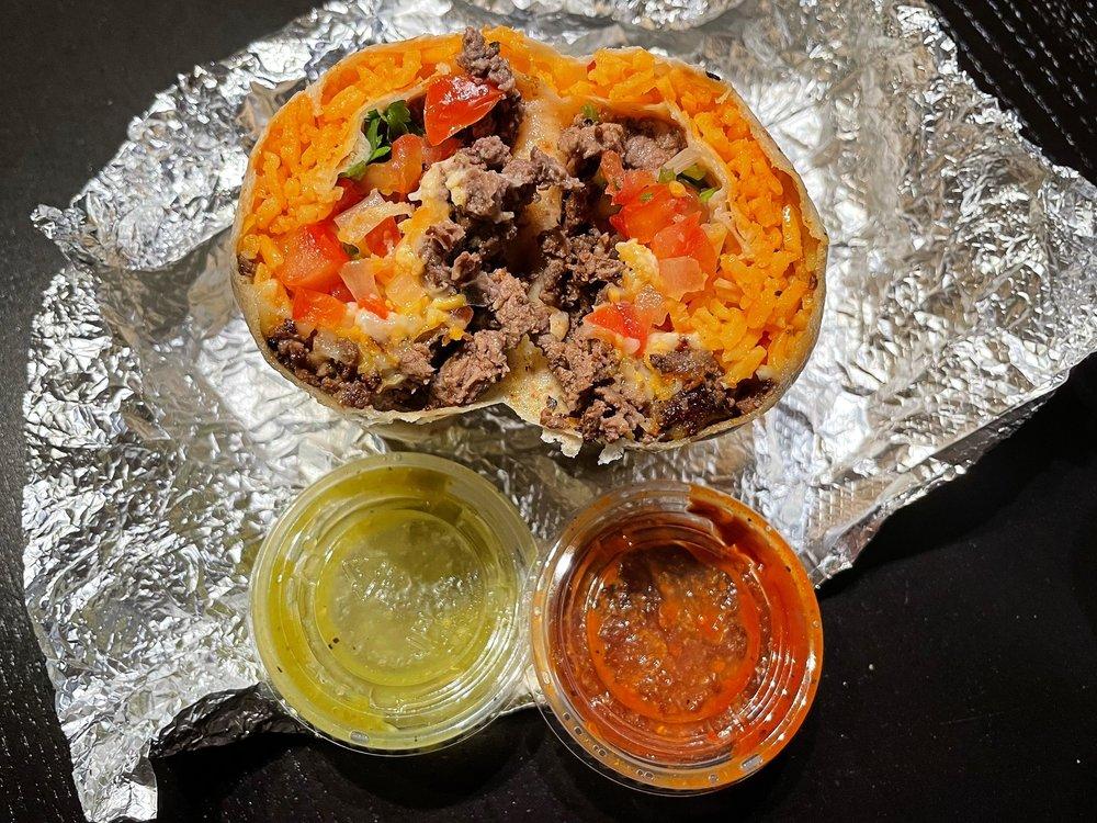 Food from Fair Oaks Burger