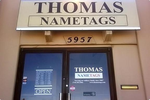 Thomas Nametags