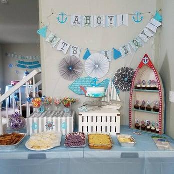 Photo Of Sunrise Bakery   Turlock, CA, United States. Nautical Themed Baby  Shower