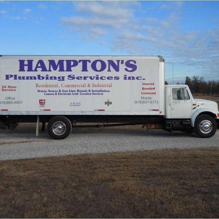 Hampton's Plumbing Service: Mannford, OK