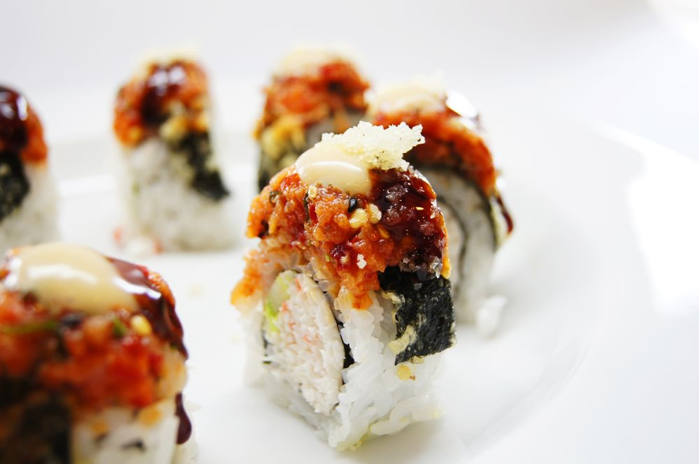 Food from Sushi One