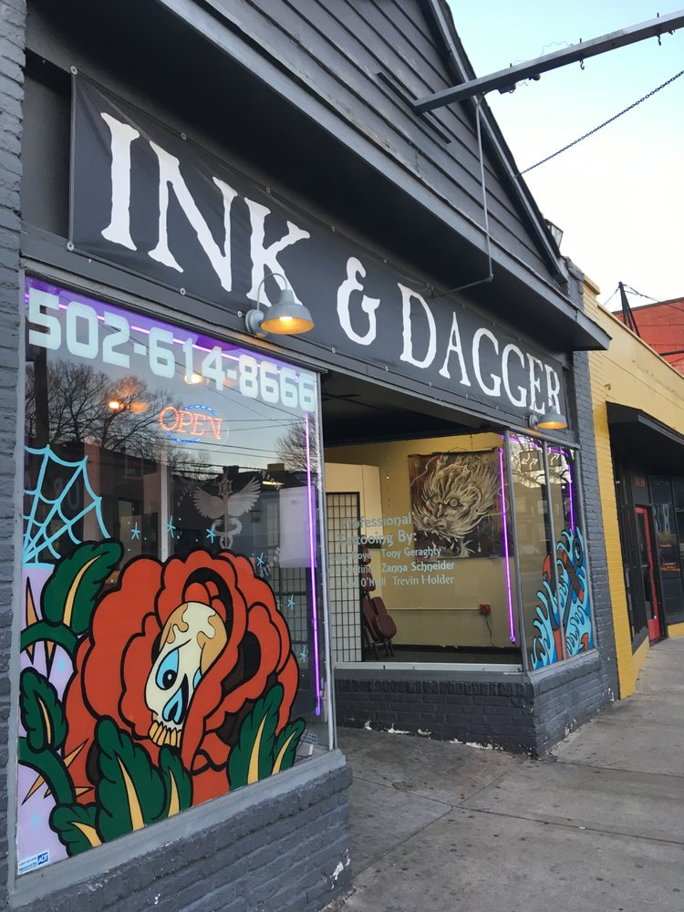 Ink and Dagger Tattoo Company: 2239 Bardstown Rd, Louisville, KY