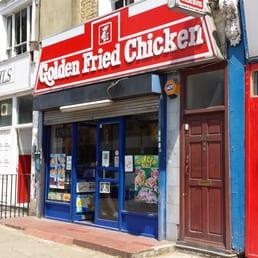 Golden fried chicken takeaway fast food 352 for Azeri cuisine caledonian road