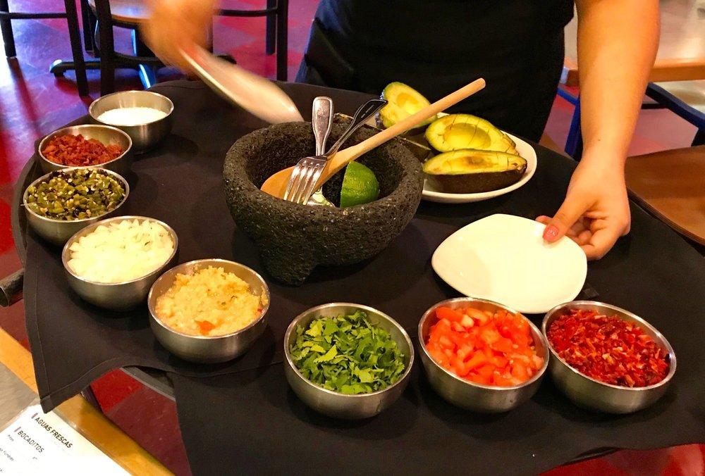 Food from La Margarita