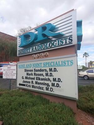 Desert Radiology 2020 Palomino Ln Ste 100 Las Vegas, NV