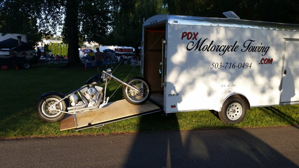 PDX Motorcycle Towing: 2401 SE 121st Ave, Portland, OR