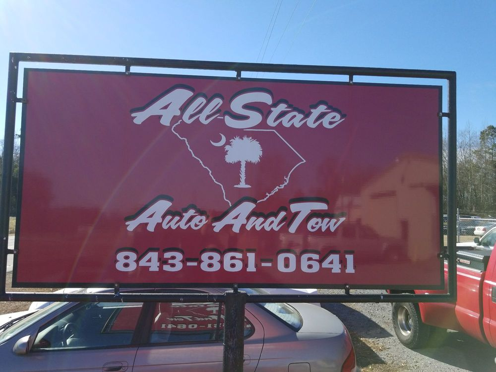 All State Auto And Tow LLC: 752 Flinn's Rd, Hartsville, SC