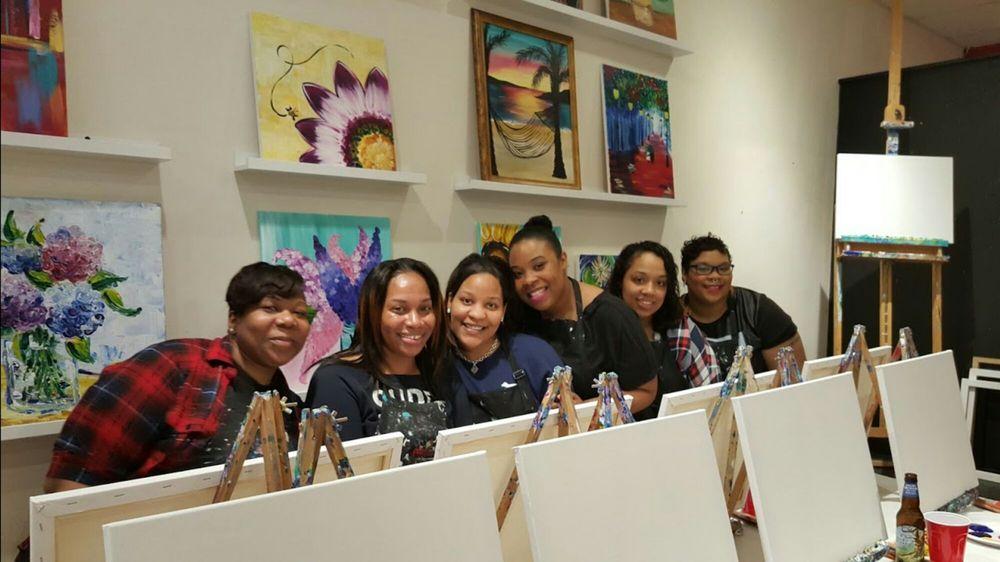 The Paint Bar: 823 Washington St, Newtonville, MA