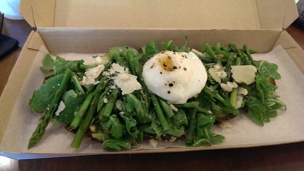 Avocado and Asparagus Tartine from Tartinery - Yelp