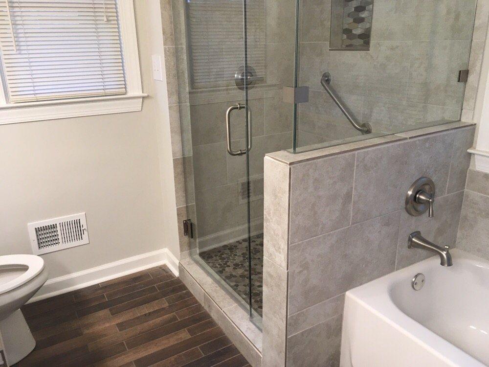 Ceramic Tile Floor Ceramic Tile Shower Accent Box And Shower Floor