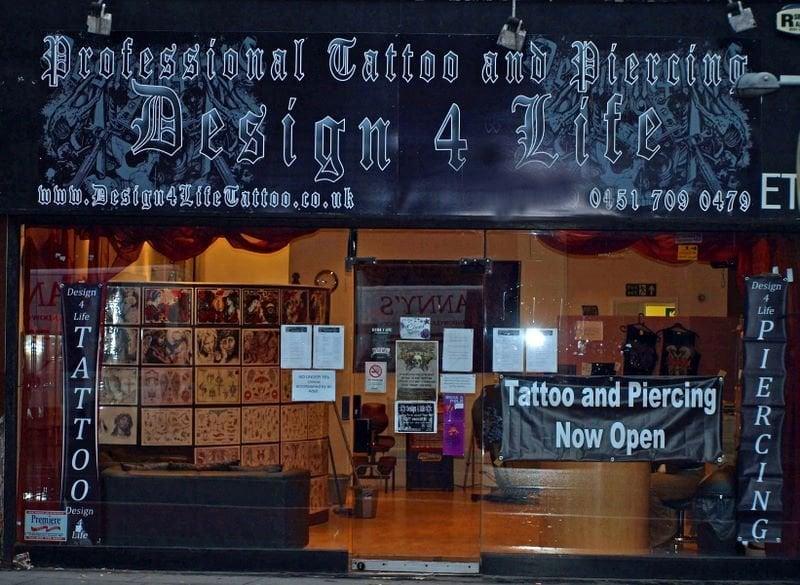 design 4 life piercing 70 lime street liverpool merseyside storbritannien telefonnummer. Black Bedroom Furniture Sets. Home Design Ideas