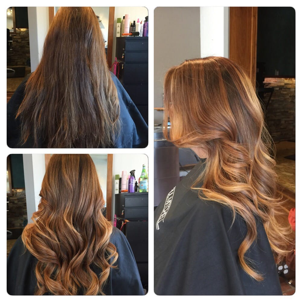 Sombre hair by kayla kyles yelp for Salon sombre
