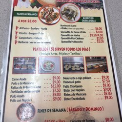 Photo Of Taqueria Ixmiquilpan Greenville Sc United States Menu Is Only In
