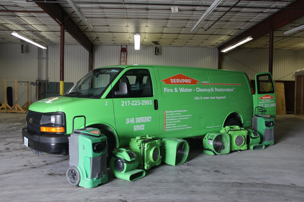 SERVPRO of Quincy: 2627 Ellington Rd, Quincy, IL