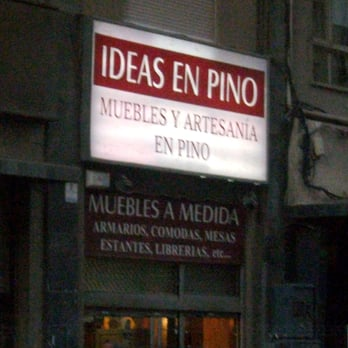 Ideas en Pino - Tiendas de muebles - Carrer de l\'Hospital, 4, El ...