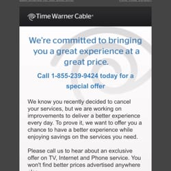 time warner customer service phone