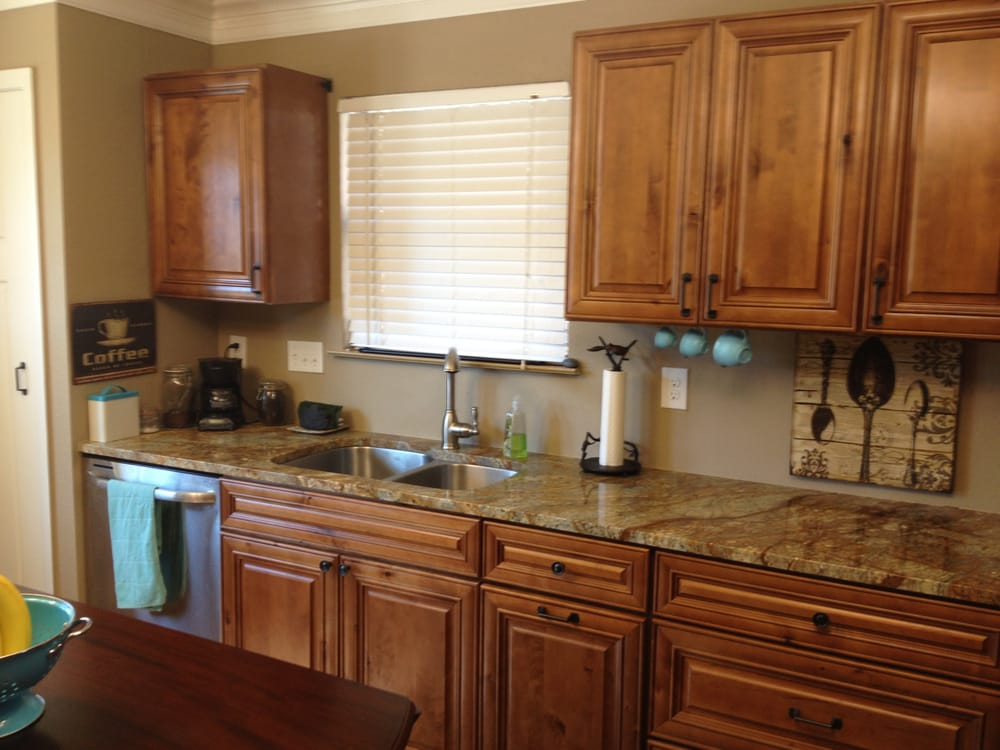 Kitchen Cabinets Knotty Distressed Maple Austin TX - Yelp