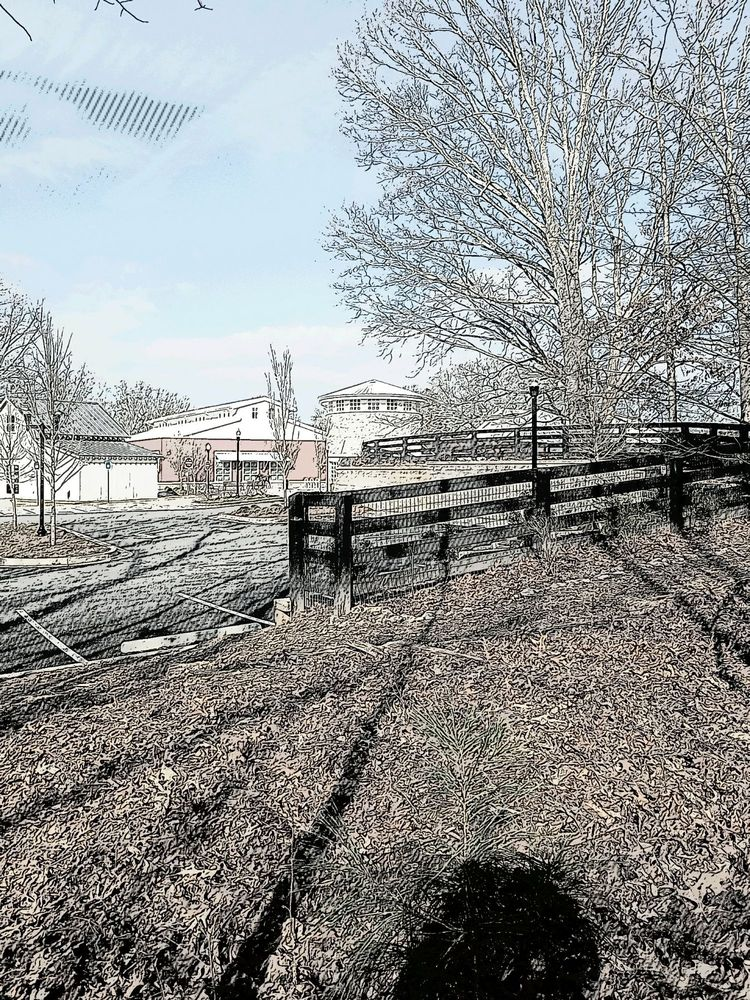 The Milton Book Trail: 855 Mayfield  Rd, Milton, GA