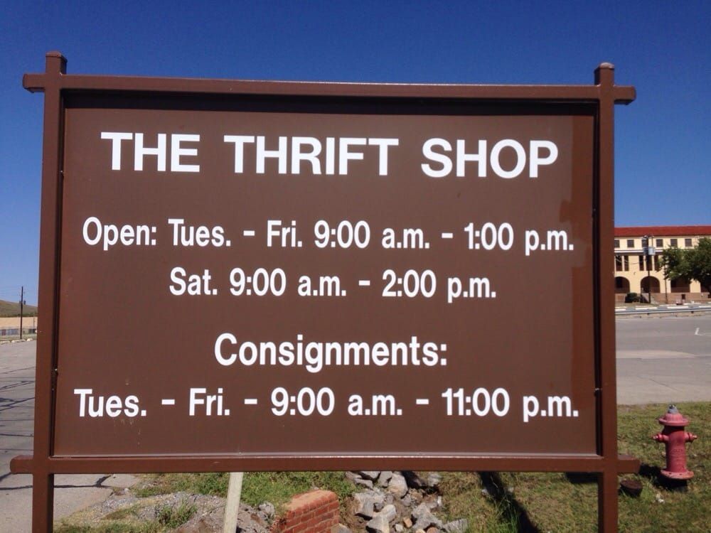 The Thrift Shop: 1713 Gruber Rd, Fort Sill, OK