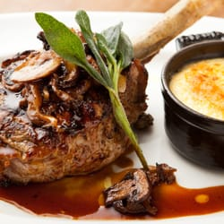 Photo Of L Andana Burlington Ma United States Veal Chop With