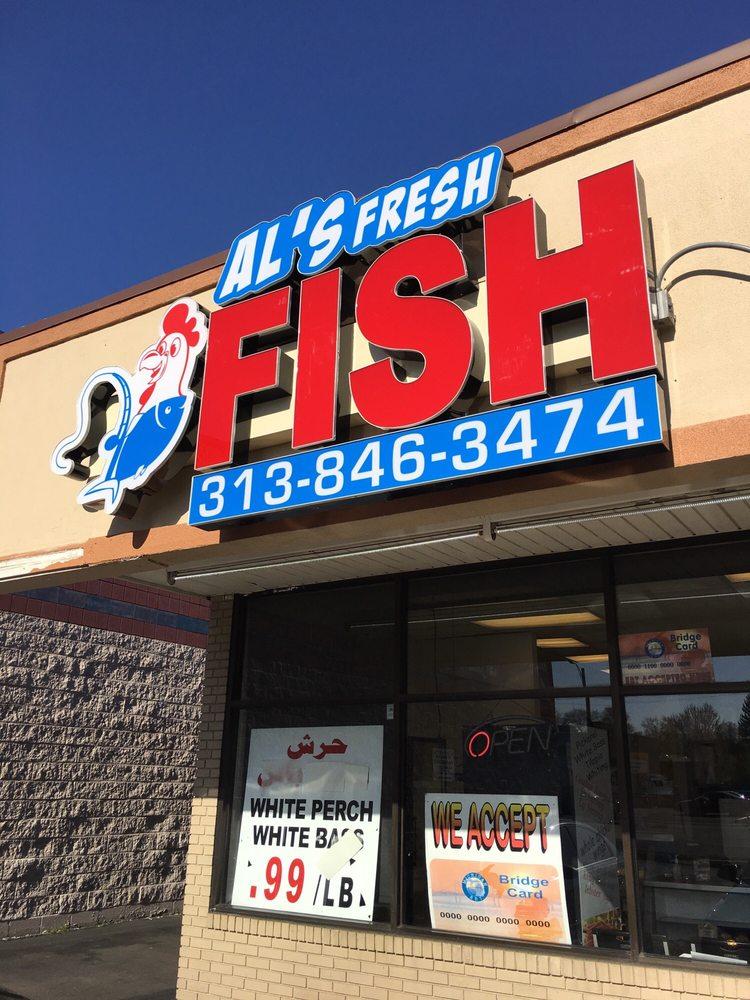 Al's Fresh Fish & Chicken: 6810 Greenfield Rd, Dearborn, MI