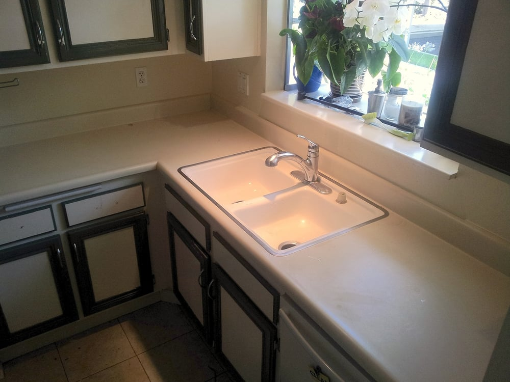 Before Ugly Tan Formica Countertops Circa 1984 And Old