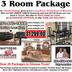 2500 And No Credit Check Photo Of Red Tag Mattress Furniture Clearance