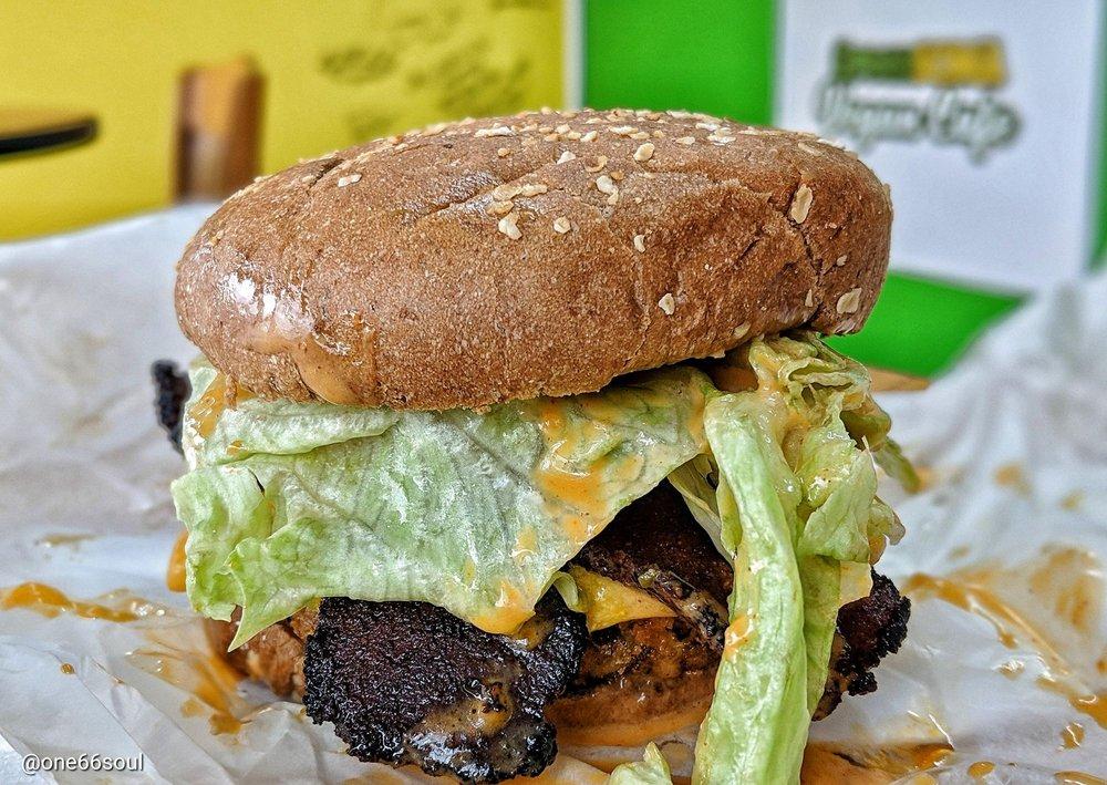 Green Soma Vegan Cafe: 626 S Central Ave, Hapeville, GA