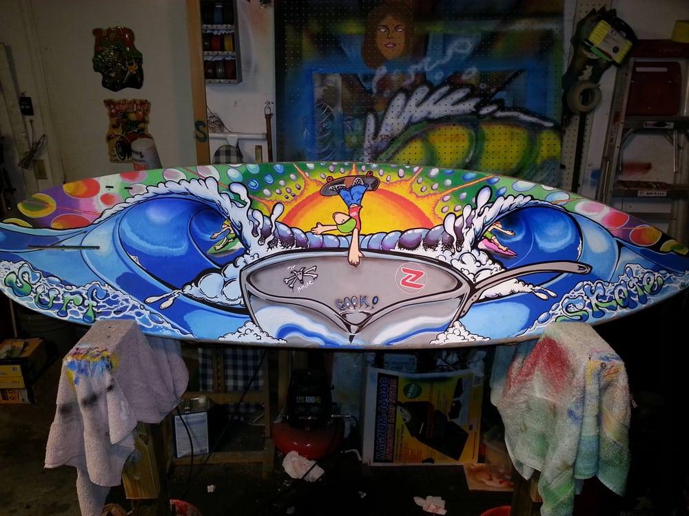 Sean Farmer Surf Art and Designs