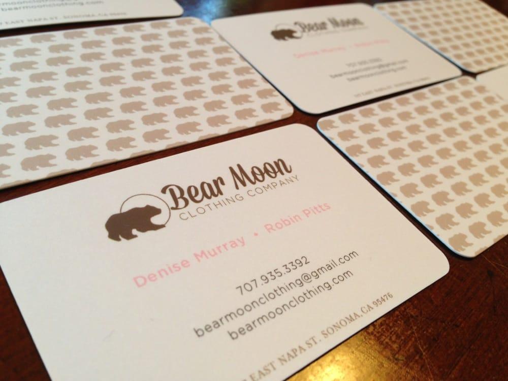 Bear Moon Clothing Co: 117 E Napa St, Sonoma, CA
