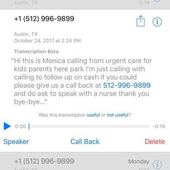 Urgent Care for Kids - 46 Reviews - Urgent Care - 905 E Whitestone ...