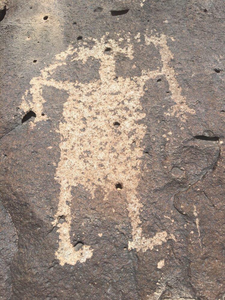 La Cieneguillia Petroglyph site: 662 Paseo Real, Santa Fe, NM
