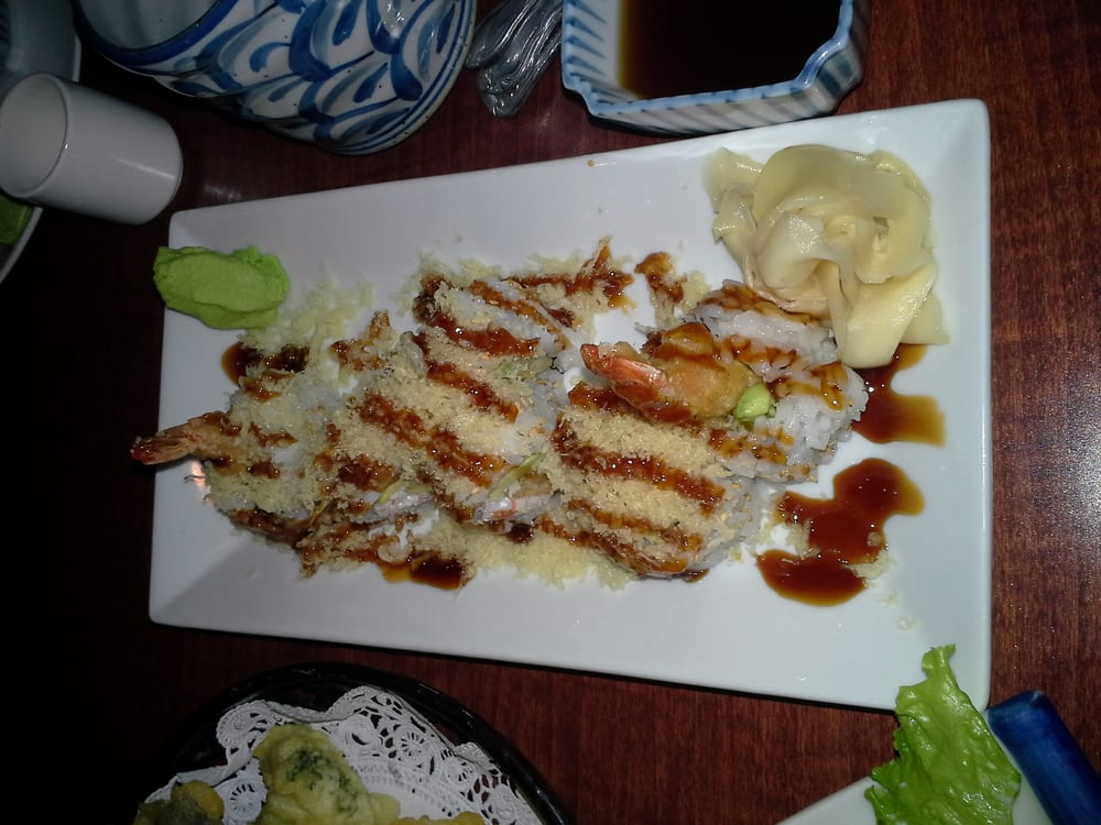 Very good tempura cruch roll yelp for Akasaka japanese cuisine