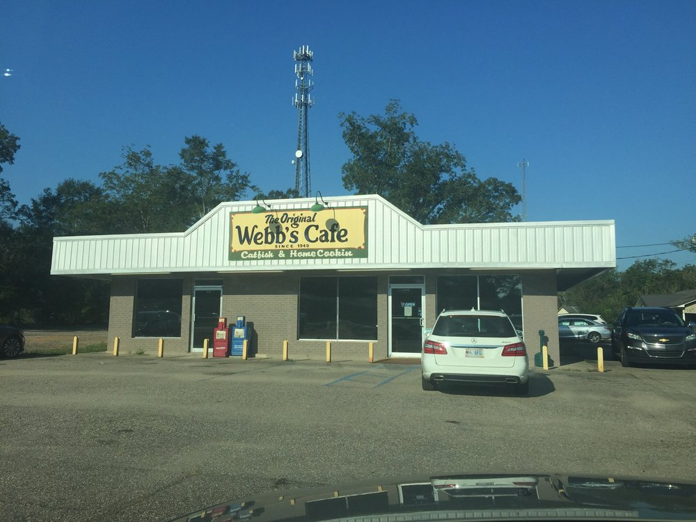 Webb's Cafe: 1373 Railroad St, Mount Vernon, AL