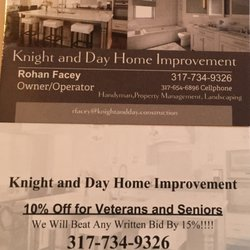 Knight and day home improvement handyman indianapolis in photo of knight and day home improvement indianapolis in united states the colourmoves
