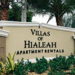 Photo Of Villas  Hialeah   Hialeah, FL, United States. Sign At The