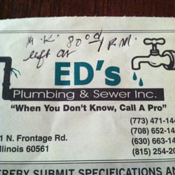 Ed's Plumbing and Sewer - 14 Reviews - Plumbing - Darien, IL ...