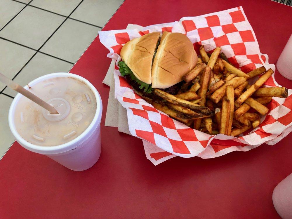 CJ's Butcher Boy Burgers: 2803 N Arkansas Ave, Russellville, AR